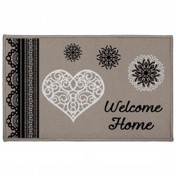 Tapis imprimé WELCOME HOME  2 tailles