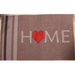 Tapis velous LOVE HOME  3 tailles