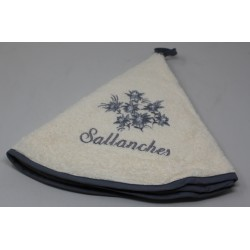 Torchon rond EDELWEISS